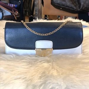 Dior - (Authentic) Leather Wallet on Chain